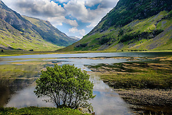 Loch Achtriochtan in Glencoe, Highlands of Scotland<br /> <br /> (c) Andrew Wilson | Edinburgh Elite media