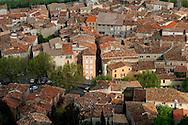 France, Languedoc Roussillon, Gard (30), Anduze, la porte des Cévennes