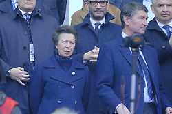 February 23, 2019 - Saint Denis, Seine Saint Denis, France - La princesse Anne during the Guinness Six Nations Rugby tournament between France and Scotland at the Stade de France - St Denis - France..France won 27-10 (Credit Image: © Pierre Stevenin/ZUMA Wire)