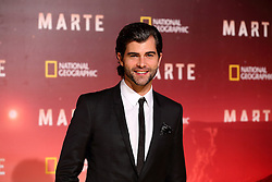 November 8, 2016 - Roma, RM, Italy - Spanish actor Diego Dominguez during Red Carpet of the premier of Mars, the largest production ever made by National Geographic  (Credit Image: © Matteo Nardone/Pacific Press via ZUMA Wire)