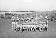 The Kerry Team before the All Ireland Senior Gaelic Football Final Kerry v Down in Croke Park on the 22nd September 1968. Down 2-12 Kerry 1-13.