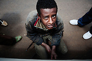 Gommista, Addis Ababa 21 settembre 2014.  Christian Mantuano / OneShot