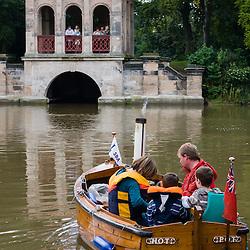 Boats in Birkenhead Park