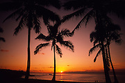 Sunset, Hawaii<br />