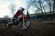 Jorge Prado riding for the first time in 2 and a half weeks. You would not know it unless he said it.