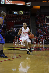 29 December 2010: Trey Blue during an NCAA basketball game where the Creighton Bluejays defeated the Illinois State Redbirds at Redbird Arena in Normal Illinois.