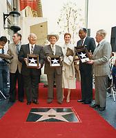 1987 Gene Autry's Walk of Fame ceremony
