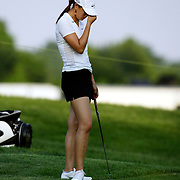 HAVRE DE GRACE, MD, June 7, 2007:  Michelle Wie play during the first round of the LPGA Championship in Havre De Grace, MD on June 7, 2007 was less than spectacular.  (Photo by Todd Bigelow/Aurora)