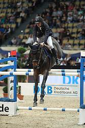 Chudyba Bronislav, (SVK), Extasy III<br /> DKB-Riders Tour<br /> Grand Prix Kreditbank Jumping München 2015<br /> © Hippo Foto - Stefan Lafrentz