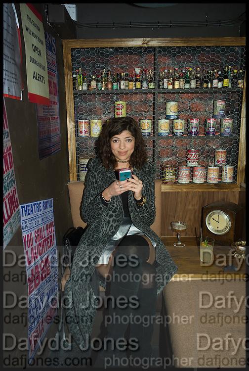 MARTA KOPYLENKA, Cahoots club launch party, 13 Kingly Court, London, W1B 5PW  26 February 2015