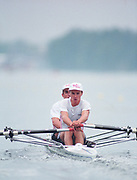 Tampere Kaukajaervi,  FINLAND.  Men's Lightweight Double Sculls, SUI. LM2X Markus GIER and Michael GIER competing at the 1995 World Rowing Championships - Lake Tampere, 08.1995<br /> <br /> [Mandatory Credit; Peter Spurrier/Intersport-images] Re-Edited and file ref No. updated, 16th January 2021.