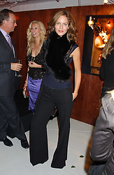TRINNY WOODALL at a party hosted by Jo Malone - Pomegranate Noir, held at The Vinyl Factory, 45 Foubert's Place, London W1 on 15th September 2005.<br />