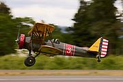 Stearman Cloudboy landing.