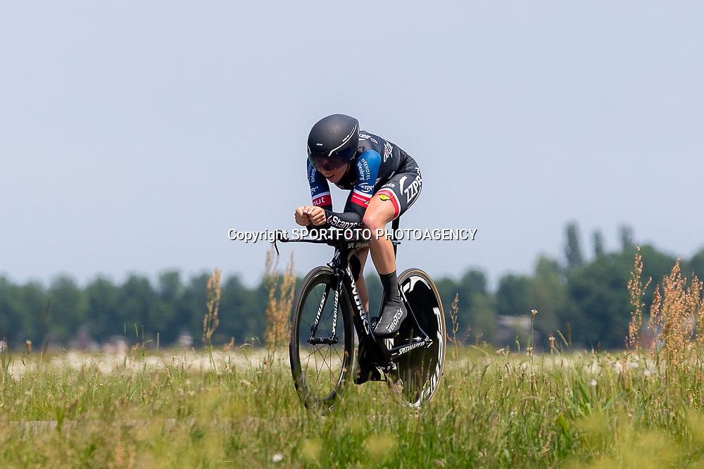 EMMEN (NED) June 16: <br />CYCLING <br />Dutch Nationals Time Trail Women Elite Anne van Rooijen