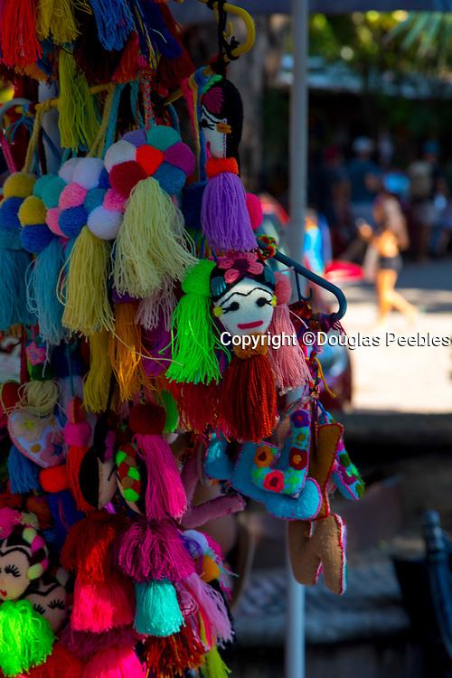 Huichol Indian, bead art work, San Pancho, San Francisco, Riviera Nayarit, Nayarit, Mexico