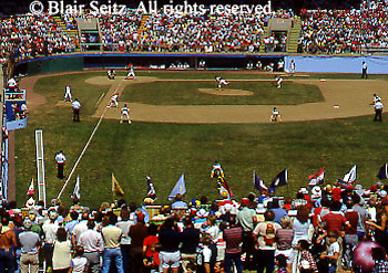 Little League Baseball World Series Play, Williamsport, PA
