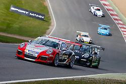 Dino Zamparelli | Bristol Sport Racing | #88 Porsche 911 GT3 Cup car | Porsche Carrera Cup GB | Race 2 - Photo mandatory by-line: Rogan Thomson/JMP - 07966 386802 - 04/04/2015 - SPORT - MOTORSPORT - Fawkham, England - Brands Hatch Circuit - British Touring Car Championship Meeting Day 2.