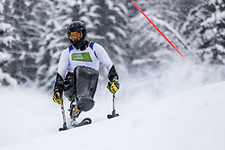 Sikorski Igor of Poland during Slalom race at 2019 World Para Alpine Skiing Championship, on January 23, 2019 in Kranjska Gora, Slovenia. Photo by Matic Ritonja / Sportida