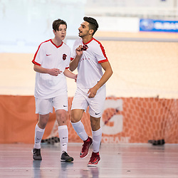 ADELAIDE, AUSTRALIA - SEPTEMBER 24:  during the Series Futsal Australia Group B match between South Brisbane FC and Cambio Cumbre FC on September 24, 2017 in Adelaide, Australia. (Photo by Patrick Kearney)