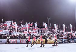 19.01.2019, Wielka Krokiew, Zakopane, POL, FIS Weltcup Skisprung, Zakopane, Herren, Teamspringen, im Bild Team Polen // Polish Team during the men's team event of FIS Ski Jumping world cup at the Wielka Krokiew in Zakopane, Poland on 2019/01/19. EXPA Pictures © 2019, PhotoCredit: EXPA/ JFK