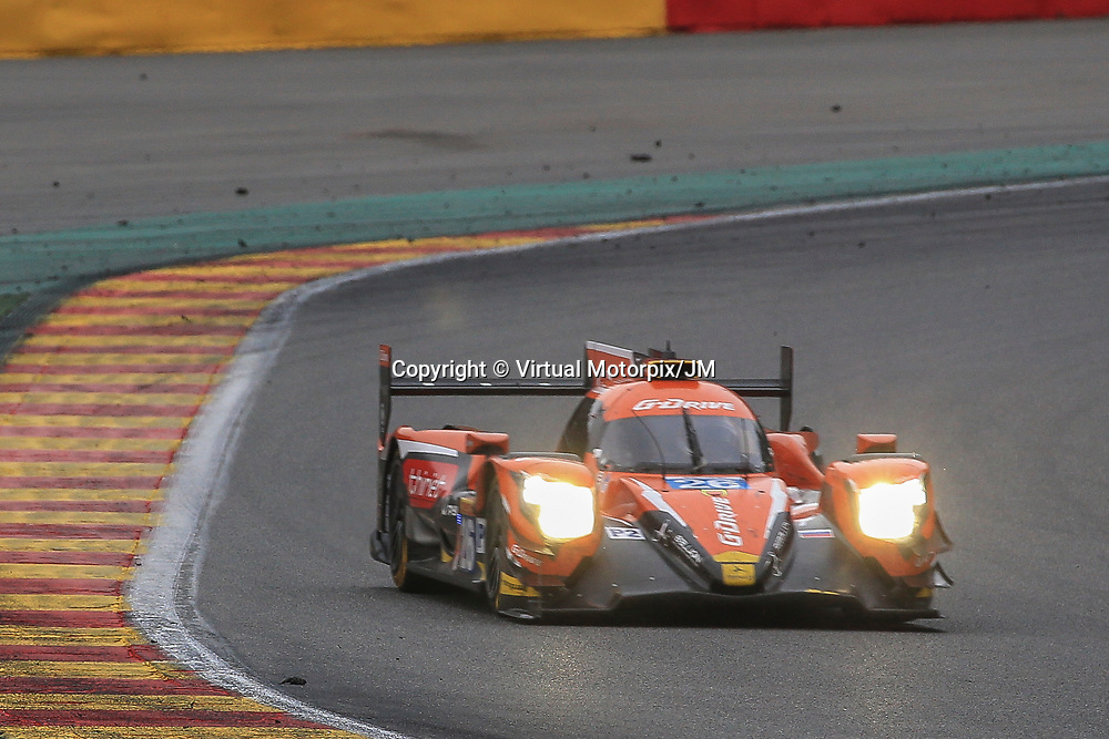 #26, Gibson G-Drive Racing, Oreca 07 Gibson, driven by, Roman Rusinov, Pierre Thiriet, Alex Lynn, FIA WEC 6hrs of Spa 2017, 06/05/2017,