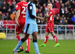David Cotterill of Bristol City  - Mandatory by-line: Joe Meredith/JMP - 04/02/2017 - FOOTBALL - Ashton Gate - Bristol, England - Bristol City v Rotherham United - Sky Bet Championship