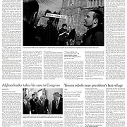 "Tearsheet of ""Many in Ireland Vow Not to Pay a New Water Tax"" published in The New York Times"