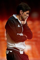 November 4, 2017 - Valencia, Valencia, Spain - Marcelino Garcia Toral head coach of Valencia CF  looks on prior to the La Liga match between Valencia CF and CD Leganes at Mestalla Stadium on November 4, 2017 in Valencia, Spain. (Credit Image: © David Aliaga/NurPhoto via ZUMA Press)