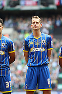 Paul Robinson defender for AFC Wimbledon (6) before the Sky Bet League 2 play off final match between AFC Wimbledon and Plymouth Argyle at Wembley Stadium, London, England on 30 May 2016. Photo by Stuart Butcher.