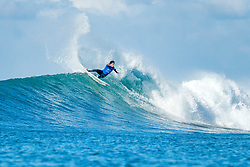 00000000 0, 0000 - Jeffreys Bay, South Africa - Jeremy Flores of France advancing directly to Round Three of the Corona Open J-Bay after winning Heat 3 of Round One at Supertubes, Jeffreys Bay, South Africa. (Credit Image: © Kelly Cestari/World Surf League via ZUMA Wire)