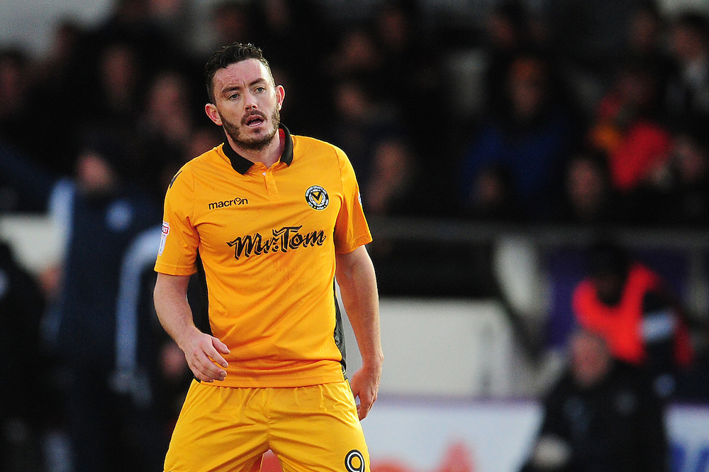 Newport County's Craig Reid<br /> <br /> Photographer Kevin Barnes/CameraSport<br /> <br /> The EFL Sky Bet League Two - Newport County v Colchester United - Saturday 14th January 2017 - Rodney Parade - Newport<br /> <br /> World Copyright © 2017 CameraSport. All rights reserved. 43 Linden Ave. Countesthorpe. Leicester. England. LE8 5PG - Tel: +44 (0) 116 277 4147 - admin@camerasport.com - www.camerasport.com