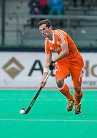 ROTTERDAM - HOCKEY - Sander Baart tijdens de wedstrijd tussen de mannen bvan Nederland en Nieuw Zeeland (3-3)  bij de Rabobank Hockey World League in Rotterdam. ANP KOEN SUYK
