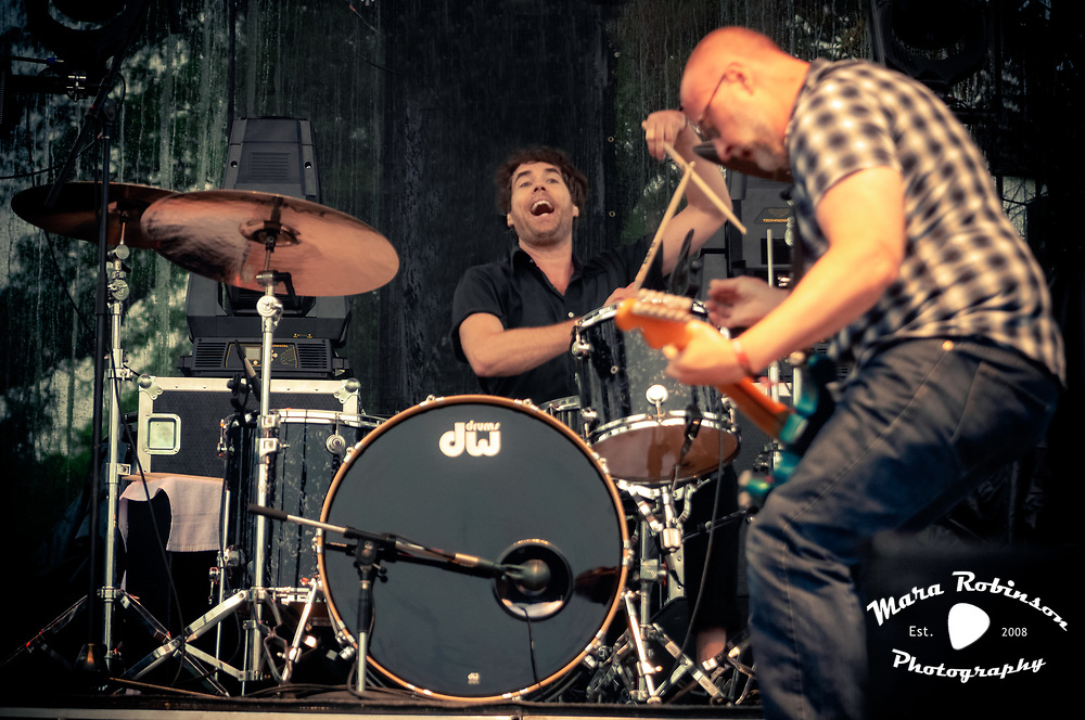 Bob Mould, Jon Wurster, live at Riot Fest Chicago 2013, concet photography by Akron music photographer, Cleveland music photographer Mara Robinson