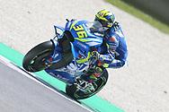 #36 Joan Mir, Spanish: Team Suzuki Ecstar during the Italian MotoGP at Autodromo Internazionale, Mugello, Italy on 1 June 2019.