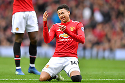 Manchester United's Jesse Lingard reacts to a missed chance