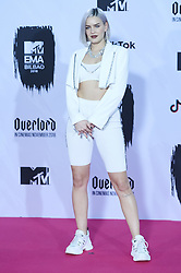 November 4, 2018 - Madrid, Madrid, Spain - Anne-Marie poses in the press room during the 25th MTV EMAs 2018 held at Bilbao Exhibition Centre 'BEC' on November 5, 2018 in Madrid, Spain (Credit Image: © Jack Abuin/ZUMA Wire)