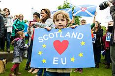 Scotland demonstrates it wants to stay in EU | Edinburgh | 29 June 2016