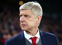 December 28, 2017 - London, England, United Kingdom - Arsenal manager Arsene Wenger ..during Premier League  match between Crystal Palace and Arsenal at Selhurst Park Stadium, London,  England 28 Dec 2017. (Credit Image: © Kieran Galvin/NurPhoto via ZUMA Press)