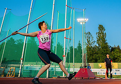Martina Ratej of Slovenia competes at Javelin Women during 20th European Athletics Classic Meeting in Honour of Miners' Day in Velenje on July 1, 2015 in Stadium Velenje, Slovenia. Photo by Vid Ponikvar / Sportida
