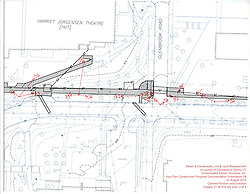Key Plan 2 of 4 for UConn Steam and Condensate Line and Vault Replacement Project. Task No.:001 Construction Progress Documentation on 22 August 2016