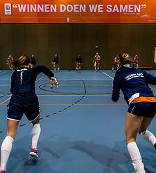 10-05-2018 NED: Training Dutch volleyball team women, Arnhem<br /> Train, train and train