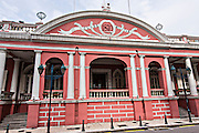 Exterior of the The Military Club or Clube Militar de Macau in Macau.