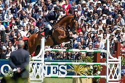 Cox Karel, BEL, Quickchin WH Z<br /> Derby Région des Pays de La Loire<br /> Longines Jumping International de La Baule 2017<br /> © Dirk Caremans<br /> Cox Karel, BEL, Quickchin WH Z
