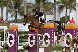 Martinsen Emilie (DEN) - Carisma<br /> Horseware GP CSI 2*<br /> Wellington 2012<br /> © Hippo Foto - Cealy Tetly