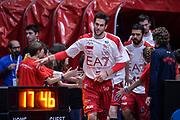DESCRIZIONE : Milano Lega A 2015-16 Olimpia EA7 Emporio Armani Milano - Giorgio Tesi Group Pistoia<br /> GIOCATORE : Bruno Cerella<br /> CATEGORIA : Pre Game<br /> SQUADRA : Olimpia EA7 Emporio Armani Milano<br /> EVENTO : Campionato Lega A 2015-2016<br /> GARA : Olimpia EA7 Emporio Armani Milano Giorgio Tesi Group Pistoia<br /> DATA : 01/11/2015<br /> SPORT : Pallacanestro<br /> AUTORE : Agenzia Ciamillo-Castoria/M.Ozbot<br /> Galleria : Lega Basket A 2015-2016 <br /> Fotonotizia: Milano Lega A 2015-16 Olimpia EA7 Emporio Armani Milano - Giorgio Tesi Group Pistoia