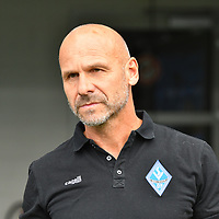 29.09.2019, Carl-Benz-Stadion, Mannheim, GER, 3. Liga, SV Waldhof Mannheim vs. FC Hansa Rostock, <br /> <br /> DFL REGULATIONS PROHIBIT ANY USE OF PHOTOGRAPHS AS IMAGE SEQUENCES AND/OR QUASI-VIDEO.<br /> <br /> im Bild: Bernhard Trares (Trainer SV Waldhof Mannheim)<br /> <br /> Foto © nordphoto / Fabisch