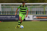 Forest Green Rovers midfielder Darren Carter (12) during the Vanarama National League match between Forest Green Rovers and Dagenham and Redbridge at the New Lawn, Forest Green, United Kingdom on 29 October 2016. Photo by Alan Franklin.