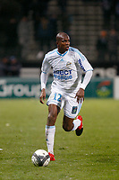 FOOTBALL - FRENCH CHAMPIONSHIP 2009/2010  - L1 - OLYMPIQUE MARSEILLE v AJ AUXERRE - 23/12/2009 - PHOTO PHILIPPE LAURENSON / DPPI - CHARLES KABORE (OM)
