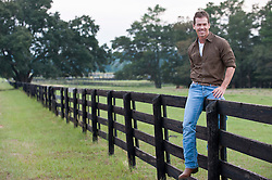 man sitting on a fence in South Carolina