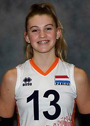 24-12-2019 NED: Photoshoot selection of Orange Youth Girls, Arnhem<br /> Orange Youth Girls 2019 - 2020 / Pippa Molenaar #13